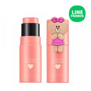 MISSHA (Line Friends Edition) Velvet Like Color Stick 7g
