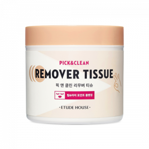 Etude House  Pick & Clean Remover Tissue 80ea