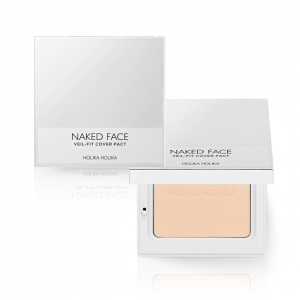 HolikaHolika Naked Face Veil-Fit Cover Pact 12g