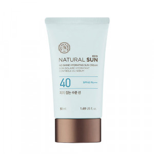 The Face Shop Natural Sun Eco No Shine Hydrating Sun Cream SPF 40 PA+++ 50ml