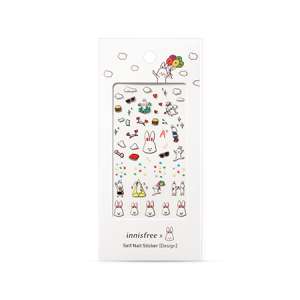 Innisfree [Cute Rabbit Benny] Self Nail Sticker – Design #26 1ea