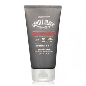 Etude House Gentle Black One Shot Cleansing 150ml