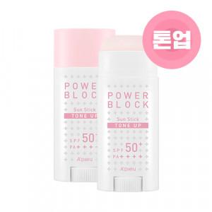 APIEU Power Block Tone Up Sun Stick SPF50+ PA++++ 15g
