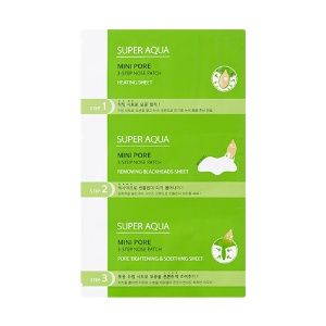 Missha Super Aqua Mini Pore 3-STEP Nose Patch