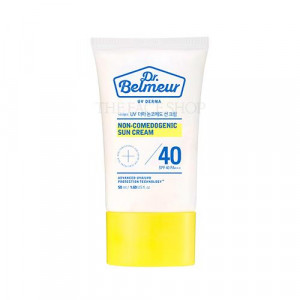 The Face Shop Dr. Belmeur UV DERMA  Non_comedogenic Sun Cream SPF40 PA+++ 50ml