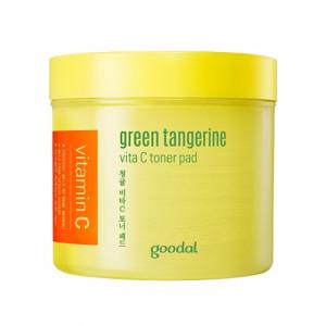 GOODAL Green Tangerine Vita C Toner Pad 70pcs