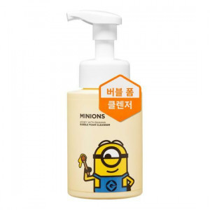 MINIONS Honey With Banana Bubble Foam Cleanser 280ml
