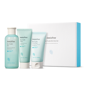 Innisfree Bija Trouble Skin Care Set 200ml+100ml+100ml