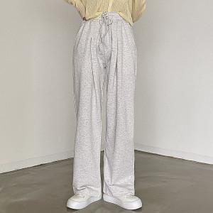[R] Cream Cheese Training wide pants 1pcs