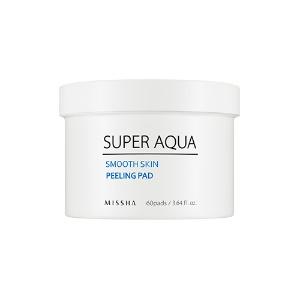Missha Super Aqua Smooth Skin Peeling Pad 60ea
