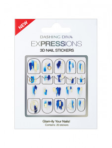 [R] DASHING DIVA Expressions 3D Nail Stickers 1ea