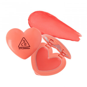 STYLENANDA 3CE Heart Pot Lip 1.4g #Coral