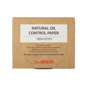 The Saem Natural Oil-Paper 50Sheet