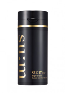SUM37 White award Bubble-De Mask Black 100ml