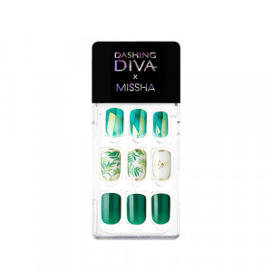 Missha x Dashing Diva Magic Press  [Tropical  Leaf] 1ea