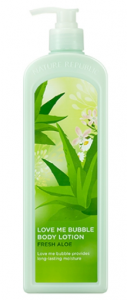 Nature Republic Love Me Bubble Body Lotion (Fresh Aloe) 1000ml