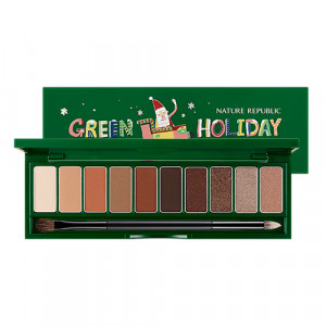Nature Republic Pro Touch Shadow Palette [Holiday Edition] 10g
