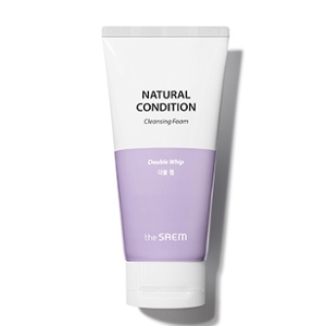 The Saem Natural Condition Cleansing Foam [Double Whip] 150ml