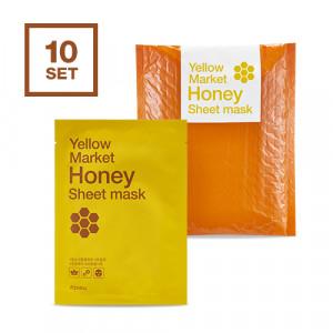 APIEU Yellow Market Honey Sheet Mask 21g*10ea