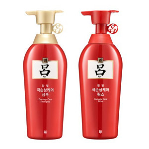 RYOE Hambit Damaged Hair Care Shampoo / Rinse(Conditioner) 500g