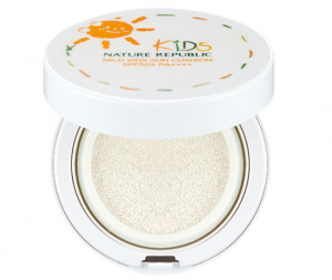 NATURE REPUBLIC Green Derma Mild Kids Sun Cushion SPF32 PA++ 12g