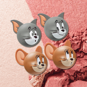 Etude House [2020 Lucky Together Collection_Tom And Jerry] Two Tone Cheek Dome 3g