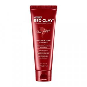 MISSHA Amazon Red Clay™ Pore Pack Foam Cleanser 120ml