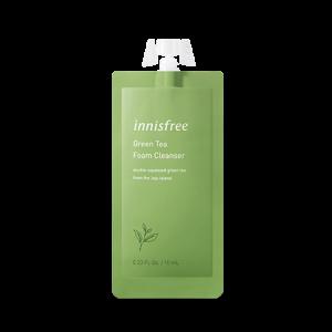 Innisfree Green Tea Foam Cleanser 10ml