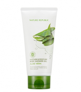 Nature Republic Soothing & moisturizing aloe vera body shower gel 150ml