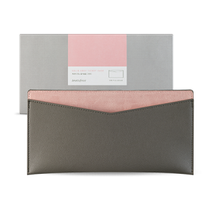 Innisfree Solid Rock Grey Ticket Case 1ea [Online]