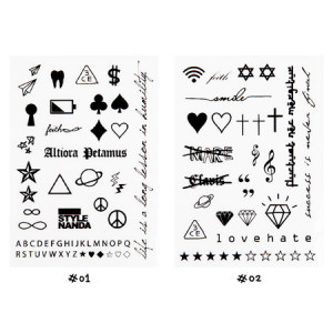 STYLENANDA 3CE Fake Tattoo