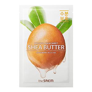 THE SAEM Natural Shea Butter Mask Sheet 21ml