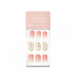 [C] Missha x Dashing Diva Magic Press Manicure [Rosy Glow] 1ea