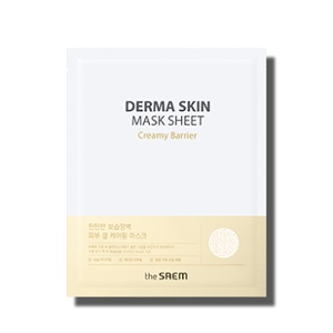 The Saem Derma Skin Mask Sheet #Creamy Barrier 25ml