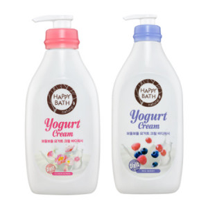 Happy Bath Yogurt Shower (Body Wash) 900g