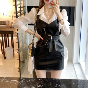 [R] UINME Girl Crush Leather Two-Peace