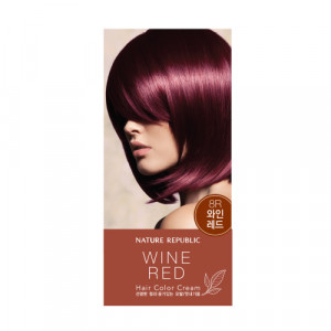 NATURE REPUBLIC Hair & Nature Hair Color Cream For Nice (8R Wine Red) 120g