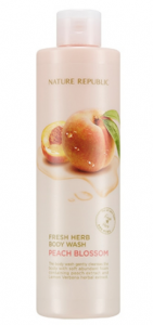 Nature Republic Fresh Herb Body Wash Peach Blossom 300ml