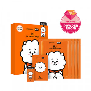 MEDIHEAL x BT21 RJ Face Point Mask 20ml*4ea