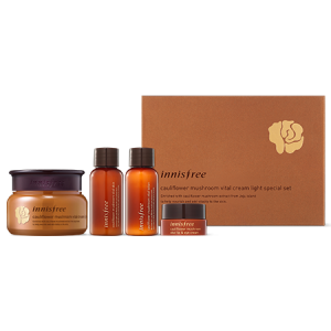Innisfree Cauliflower Mushroom Vital Cream Light Special Set