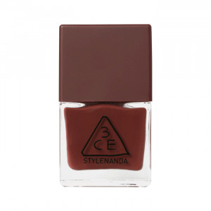 STYLENANDA 3CE Mood Recipe Long Lasting Nail Lacquer #BR06 9ml