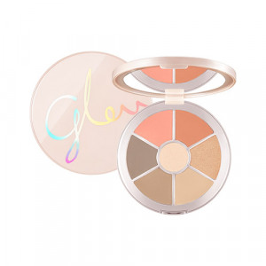 Missha Glow 2 Color Filter Face Palette [No. 1 Coral One's Me] 14.1g