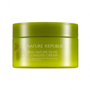 Nature Republic Real Nature Cleansing Cream Olive  200ml