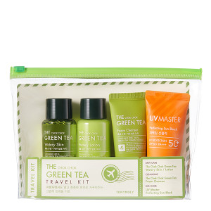 TONYMOLY The Chok Chok Green Tea Travel Kit  65ml*2+30ml*2