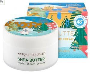 Nature Republic Green Holidays Shea Butter Steam Cream Moist 100ml