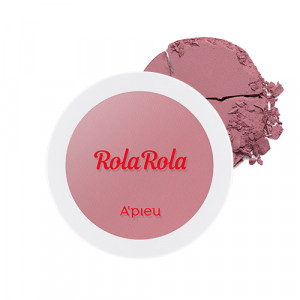 APIEU [APIEU X Rola Rola Edition] Juicy Pang Meringue Blush 5.2g