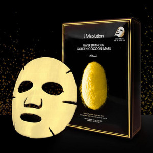 JMsolution Water Luminous Golden Cocoon Mask Black 30ml