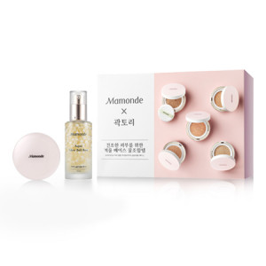 Mamonde Cover Ampoule Cushion Collabo Box (21C + Golden Ball)