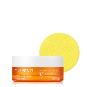 TONYMOLY Vital Vita 12 Shining Peeling Pad 50pcs