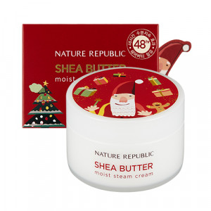 Nature Republic Green Holidays Shea Butter Steam Cream Moist 100ml